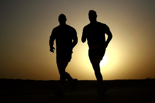 men running exercise